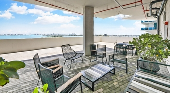 48 Waterfront Patio BBQ Seating
