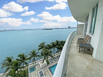 1- Sunrise Balcony with pool